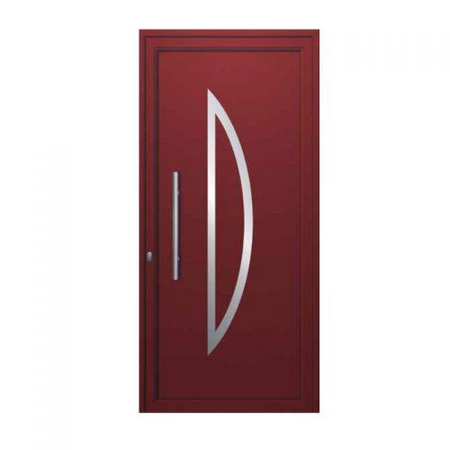 Входни врати с алуминиев панел