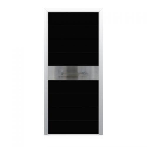 Входни врати със стъклен панел